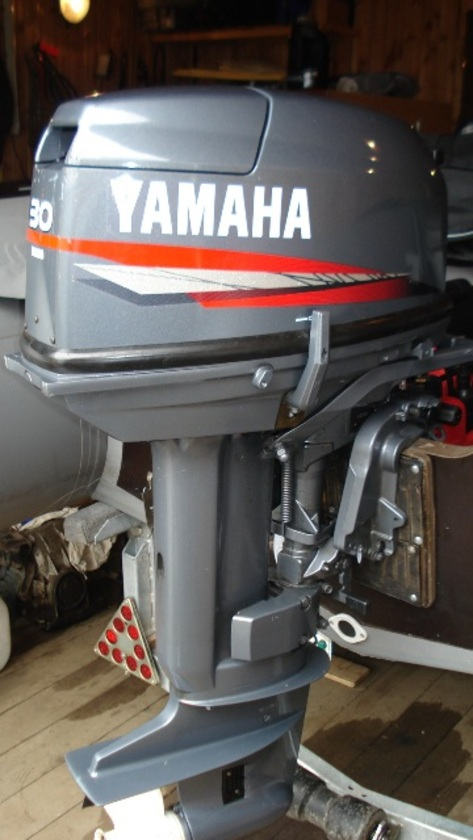 30hmhs yamaha 2 stroke 30hp short shaft cv outboard for sale